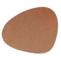 LIND DNA Подставка под стакан из натуральной кожи 11*13 см BULL фигурная цвет коричневый (9852)