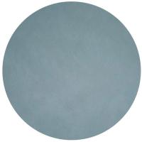 LIND DNA Подстановочная круглая салфетка из натуральной кожи 40 см голубой (982523)