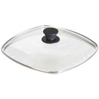 Lodge Крышка квадратная 26 см стекло прозрачный (GLSQ10)