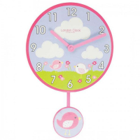 London Clock Настенные детские часы с маятником Classic (2123)