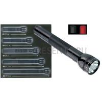 Maglite фонарь 6D на 6 батарей D