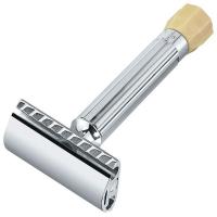 Merkur Станок Т-образный для бритья с регулировкой угла наклона лезвия серебристый (90500001)