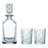 Nachtmann Набор для виски из 2-х хрустальных стаканов и штофа Bossa Nova (101095)
