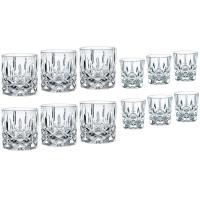 Nachtmann Набор хрустальных стаканов и стопок 12 пр. Noblesse (102390)