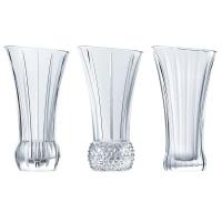 Nachtmann Набор из 3-х хрустальных ваз для цветов Spring 13.6 см (103242)
