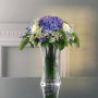 Nachtmann Хрустальная ваза для цветов 30 см Saphir (80498)