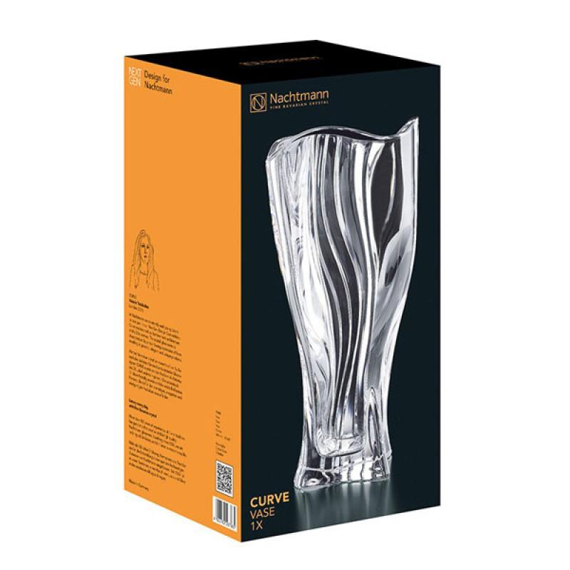 Nachtmann Хрустальная ваза для цветов 30.5 см Curve (99440)
