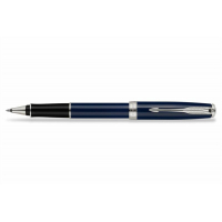 Parker Роллерная ручка Sonnet Lacquer Deep Blue CT (R0789250)