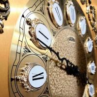 SARS Напольные механические прямоугольные часы темный орех (2085-451 Dark Walnut 2)