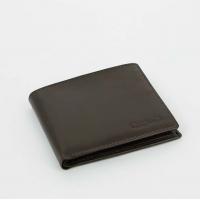 S.Quire Портмоне коричневое, гладкое (5100-BR VT)