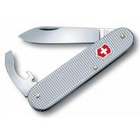 Victorinox швейцарский перочинный нож Alox Bantam_x000D_ 84мм 5 функций серебристый (0.2300.26)