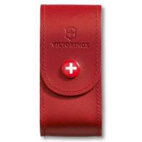 Victorinox Чехол 4.0521.1 нат.кожа петля красный (4.0521.1)