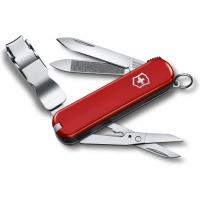 Victorinox швейцарский перочинный нож NailClip 580_x000D_ 65мм 8 функций красный (0.6463)