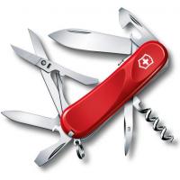 Victorinox швейцарский перочинный нож Evolution S14_x000D_ 85мм 14 функций красный (2.3903.SE)