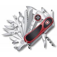 Victorinox швейцарский перочинный нож EvoGrip S54_x000D_ 85мм 31 функций красный, черный (2.5393.SC)
