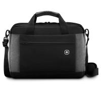 Wenger Портфель для ноутбука черный/серый Underground (601057)
