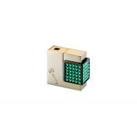 Windmill Зажигалка Gemmy Crystal Gold polich/crystal emerald (WM W07-1004)