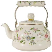 Ejiry Стальной эмалированный чайник 2.3 л белый/декор (EJ-PVSR-2.3K)
