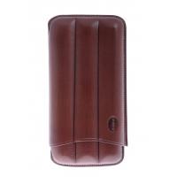 Jemar Футляр на 3 сигары, натуральная кожа (110-3-XL-Brown)