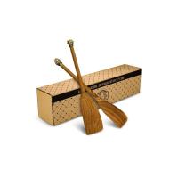 Кольчугинский мельхиор Набор из 2 деревянных лопаток с накладками