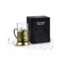 Кольчугинский мельхиор Набор для чая латунный