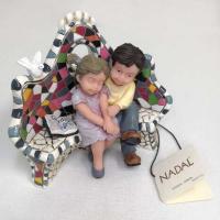 Nadal Статуэтка Влюбленные на скамейке (маленькая) (784110)