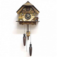 SARS Часы с кукушкой кварцевые (0425-8M)