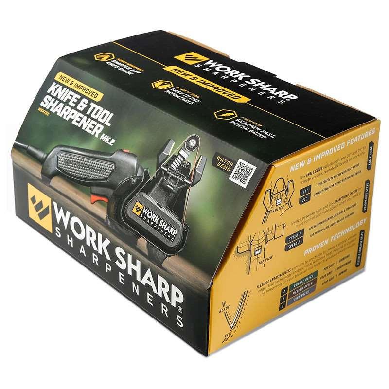 Work Sharp Электроточилка для ножей Knife & Tool Sharpner (WSKTS2-I)